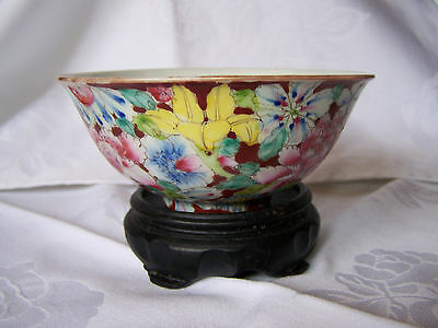 Chinese bowl - Quing Dynasty