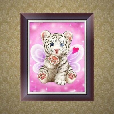 DIY 5D Diamond Embroidery Rhinestone Painting Cat Cross Stitch Home Decor