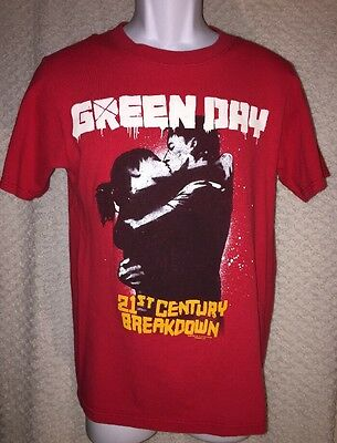 2009 Green Day 21st Century Breakdown Concert t-shirt size adult Small