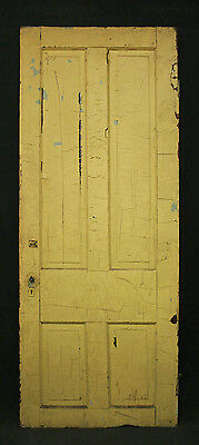 "4 avail 32""x79"" Antique Vintage Victorian Interior Solid Wood Wooden Door Panels"