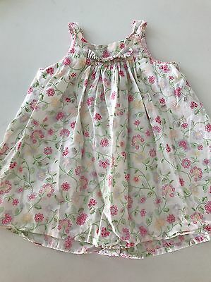 BEBE By MINIHAHA Baby Girl Dress Size 00 Pink Floral