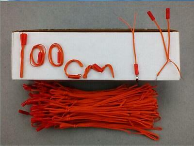 100pcs 1M Length fireworks firing system FCC copper wire connect wire E-match