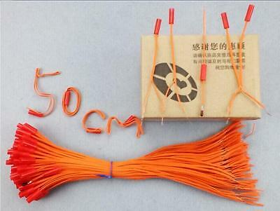 45 pcs 50cm Copper wire Wireless Switch fireworks firing system electric Igniter