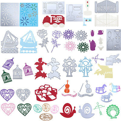 Metal Cutting Dies Stencil Scrapbook Paper Cards Craft Embossing DIY Die-Cut New
