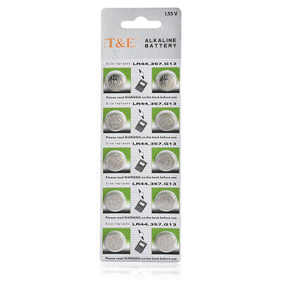 10pcs 1.5V GP LR44 AG13 A76 SR66 Button Cell Coin Battery Batteries NEW