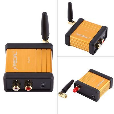Wireless Bluetooth 4.2 Audio Adapter Receiver Stereo 3.5mm RCA Music HIFI Box