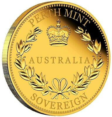 Australien - 25 Dollar 2016 - Sovereign - 7,98 Gramm Gold in Polierter Platte