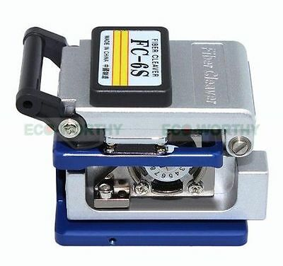 FC-6S Precision Cleaver Optical Fiber Cleaver Electric Cutting Tools ECO-WORTHY