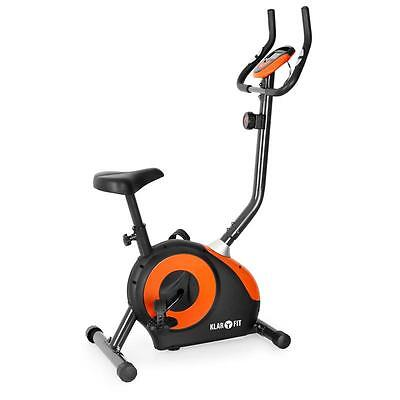 Brand New Cardio Exercise Machine Bicycle Pedal Orange/black Training Computer