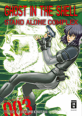 Ghost in the Shell: Stand Alone Complex 3 - Deutsch - EMA / Egmont - NEUWARE