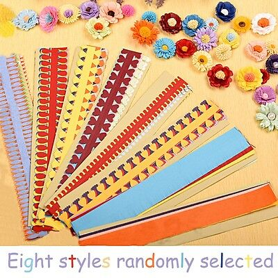 1 Bag Flower Quilling Paper Strips Mixed Colors Origami DIY Paper Hand Craft