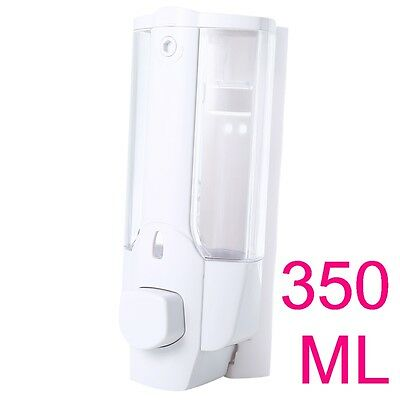 Wall Mounted Liquid Soap Lotion Sanitizer Disinfectant Dispenser for Washroom
