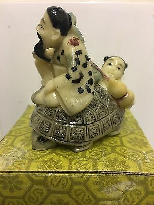 Vintage Chinese Figures. Come With Original Box.