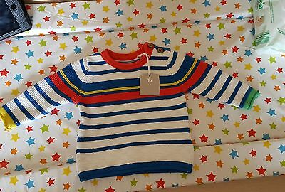 New baby boys jumper up to 3 months.