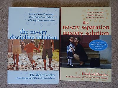 Baby and toddler books, Elizabeth Pantley no-cry solutions