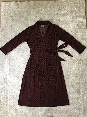 japanese weekend maternity Wrap Dress