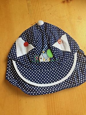 Sun Hat Baby Kids Summer Beach Hat Legionnaire Cap Cotton 1-2 years