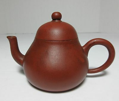 Antique 19TH CENTURY CHINESE YIXING CLAY TEAPOT MARKED SIGNED