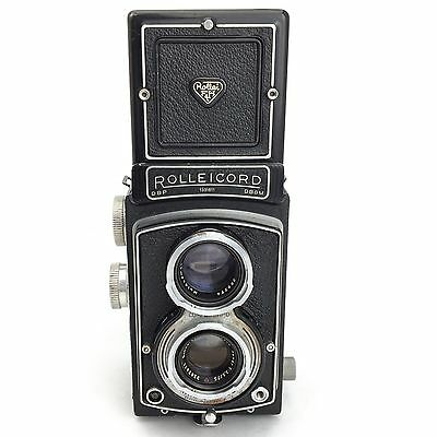 Rolleicord Model III K3B TLR Film Camera With Xenar 75mm f/3.5 Lens