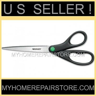 "Westcott — 9"" Long —Pointed—Stainless Steel— Scissors —Home—Office—Crafts—Sewing"