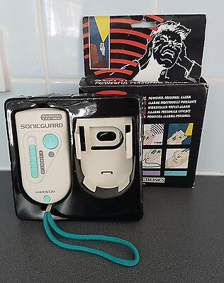 Powerful Personal Alarm And Torch 110dB Sonicguard With Belt Clip Racom