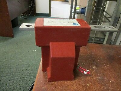 Allen-Bradley Current Transformer 80025-158-13 Ratio: 400:5A 60Kv BIL 60Hz Used