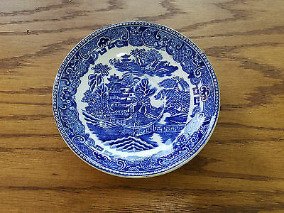 Wedgwood Blue Willow Pattern  Small Bowl 5 7/8 - 6705