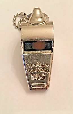 The Acme Thunderer Vintage whistle Cork Ball  (Made in England)