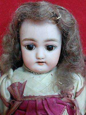 Antique German Bisque Simon & Halbig Doll 1079-2 DEP