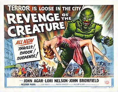 REVENGE OF THE CREATURE #1 11x14 LOBBY CARD REPRODUCTION