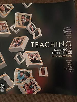 Teaching Making a Difference, 2E by Churchill (Paperback, 2012)