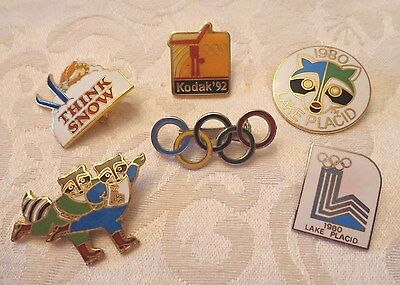 Mixed Lot of Mostly Olympic Pins