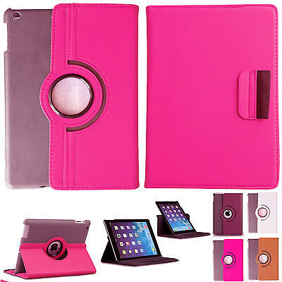 360 Degree Rotation Smart Leather Stand Case Cover For iPad Pro Air 2 3 4 Mini
