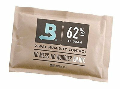Boveda 62-Percentage RH Individually Over Wrapped 2-Way Humidity Control