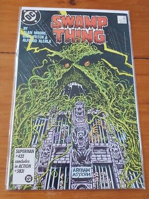 Swamp Thing 52 1986 VF
