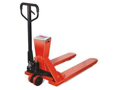 2 Ton Pallet Truck With Weigh Scale, Euro - 2000KG Hand Pump Fork Lift Trolley