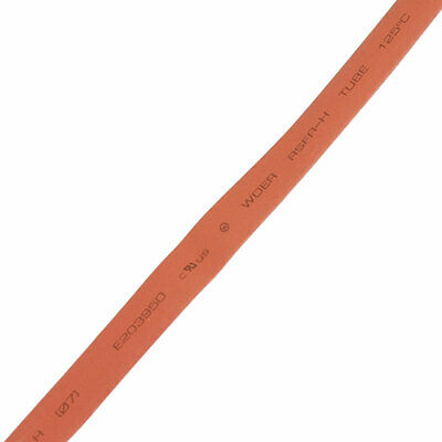 7mm tube thermorétractable rouge thermorétractable 2m 6.6pi