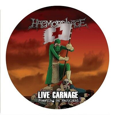 HAEMORRHAGE - live carnage: feasting on maryland - (piclp)
