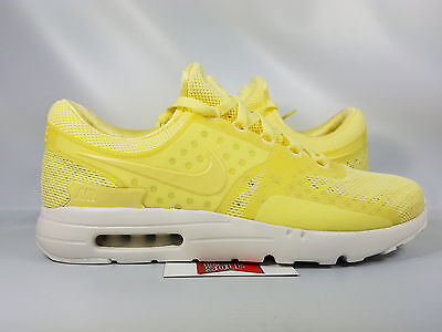 quality design 89024 6e4e4 NEW NIKE AIR Max Zero BR LEMON CHIFFON LEMONADE BREEZE 903892-700 sz 12