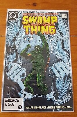 Swamp Thing 51 1986 VF