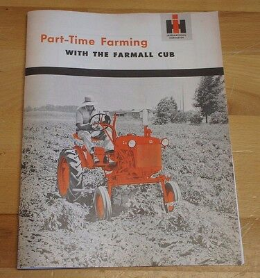 Mccormick Tractor Booklet Agriculture/farming