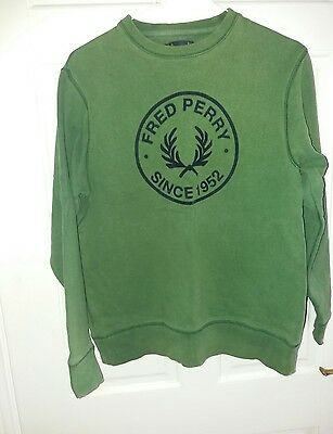 Size L fred perry unisex jumper