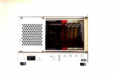 National Instruments NI PXI-1031 4-Slot 3U PXI Chassis p/n 196848B-01