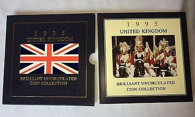1995 United Kingdom Brilliant Uncirculated Coin collection