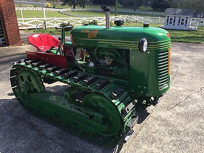 Oliver Cletrac HG42 Crawler Tractor