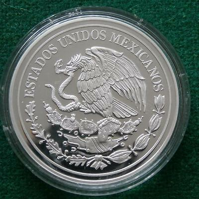 Mexico 1 oz Silver Medal proof 30 Year of Service SHCP