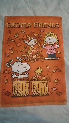 Brand New Peanuts Snoopy Garden Flags