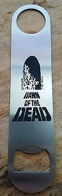 Dawn of the dead stainless steel bottle opener/church key