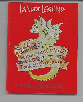 Pocket Dragon Small Catalog/booklet - 1992 Land Of Legend /collectible World