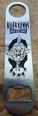 Killer klowns from outer space stainless steel bottle opener/church key